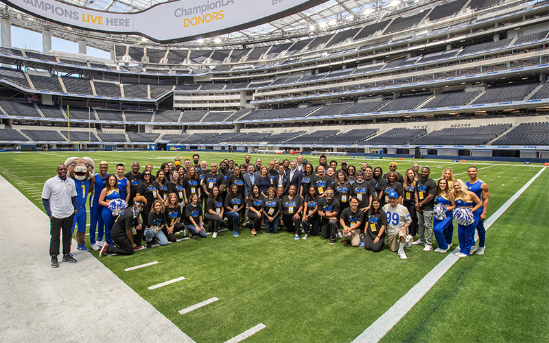 """Los Angeles Super Bowl Host Committee recognizes 56 """"unsung hero"""" community and nonprofit organizations"""